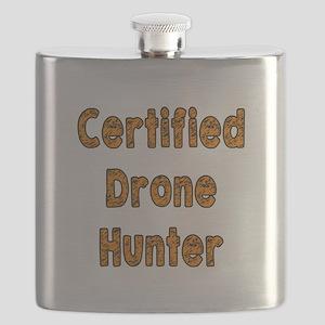 Certified Drone Hunter Flask
