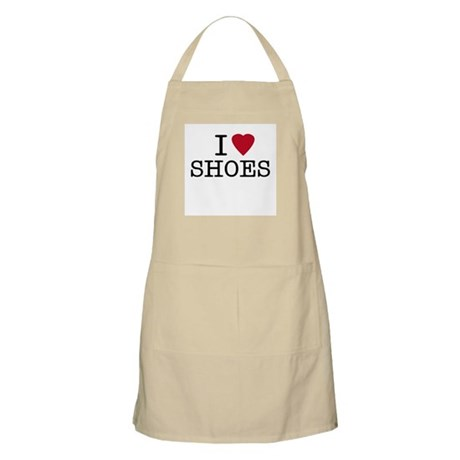 I Heart Shoes BBQ Apron