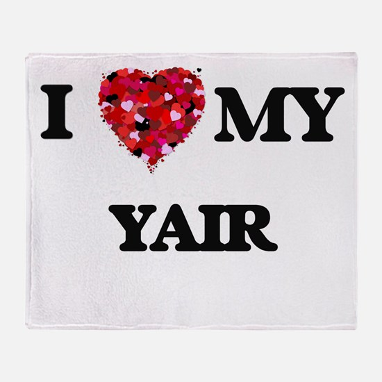 I love my Yair Throw Blanket