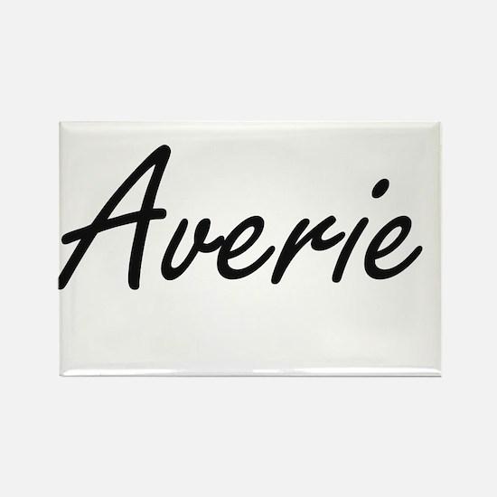 Averie artistic Name Design Magnets