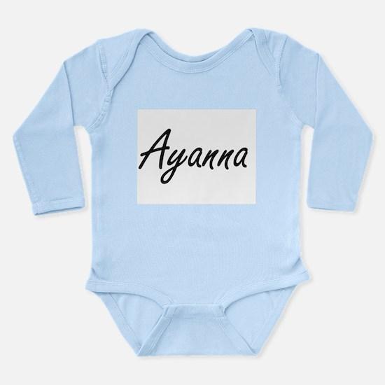 Ayanna artistic Name Design Body Suit