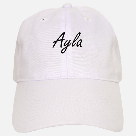 Ayla artistic Name Design Cap