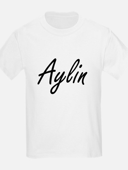 Aylin artistic Name Design T-Shirt