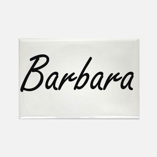 Barbara artistic Name Design Magnets