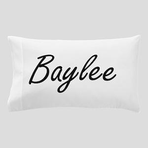 Baylee artistic Name Design Pillow Case