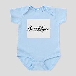 Brooklynn artistic Name Design Body Suit