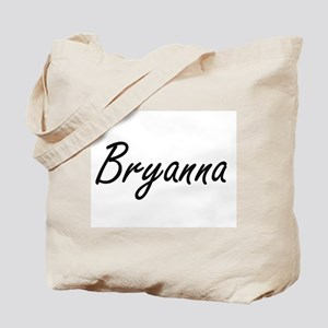 Bryanna artistic Name Design Tote Bag