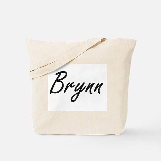 Brynn artistic Name Design Tote Bag