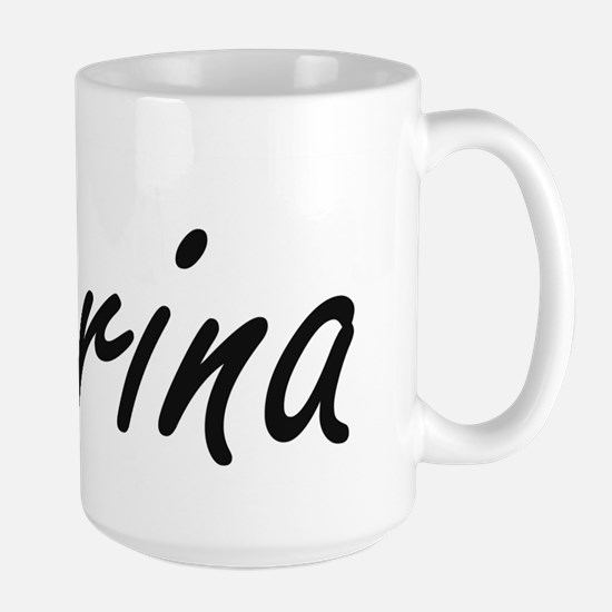 Carina artistic Name Design Mugs