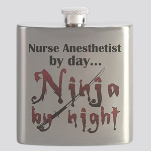 Nurse Anesthetist Ninja Flask
