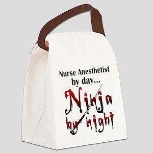 Nurse Anesthetist Ninja Canvas Lunch Bag