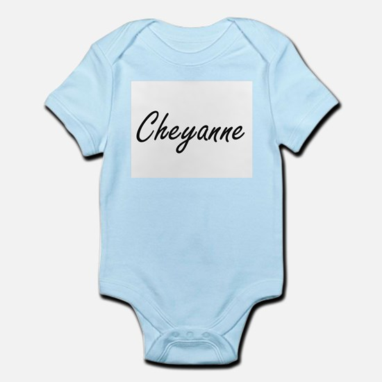Cheyanne artistic Name Design Body Suit