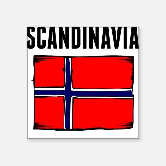 Scandinavia Flag Sticker