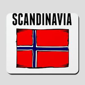 Scandinavia Flag Mousepad