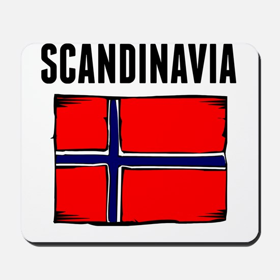 Scandinavia Flag Mousepad
