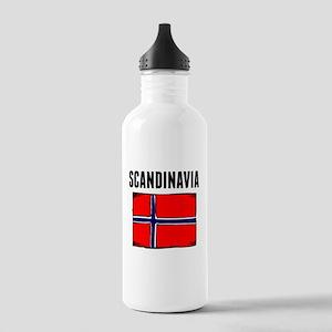 Scandinavia Flag Water Bottle