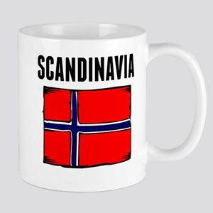 Scandinavia Flag Mugs