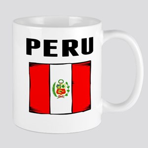 Peru Flag Mugs