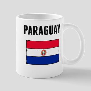 Paraguay Flag Mugs