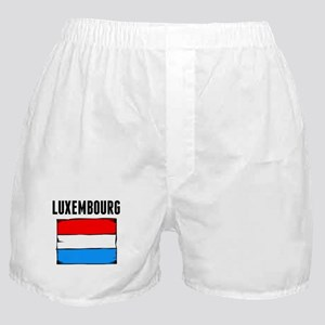 Luxembourg Flag Boxer Shorts