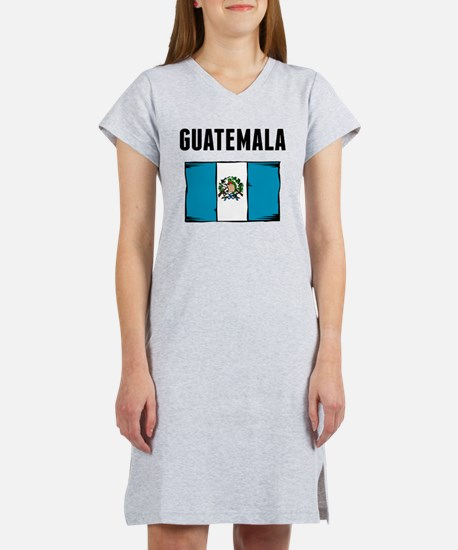 Guatemala Flag Women's Nightshirt