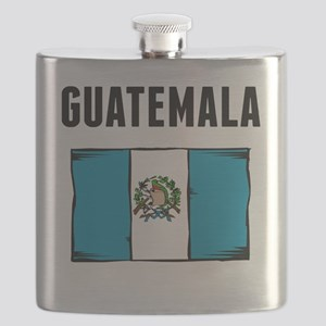 Guatemala Flag Flask
