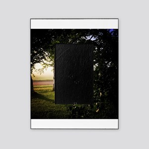 Foggy Sunrise Picture Frame