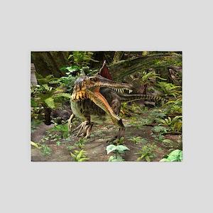 Dinosaur Spinosaurus 5'x7'Area Rug