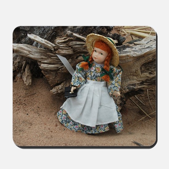 Anne of Green Gables Doll  Mousepad