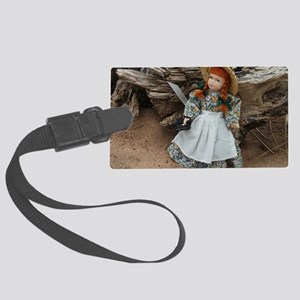Anne of Green Gables Doll  Large Luggage Tag