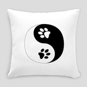 Yin Yang Paws Everyday Pillow