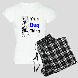 It's a Dog Thing Women's Light Pajamas