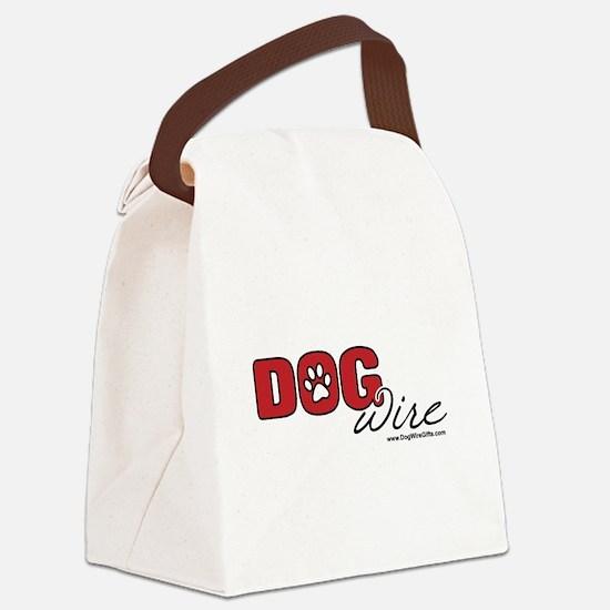 DogWire Logo Canvas Lunch Bag