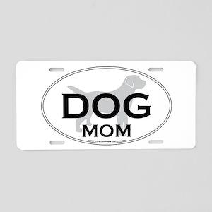 DOGMOM Aluminum License Plate
