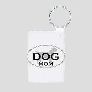 DOGMOM Aluminum Photo Keychain