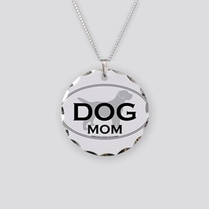 DOGMOM Necklace Circle Charm
