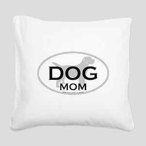 DOGMOM Square Canvas Pillow