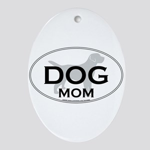 DOGMOM Ornament (Oval)