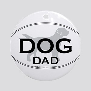 DOGDAD Ornament (Round)