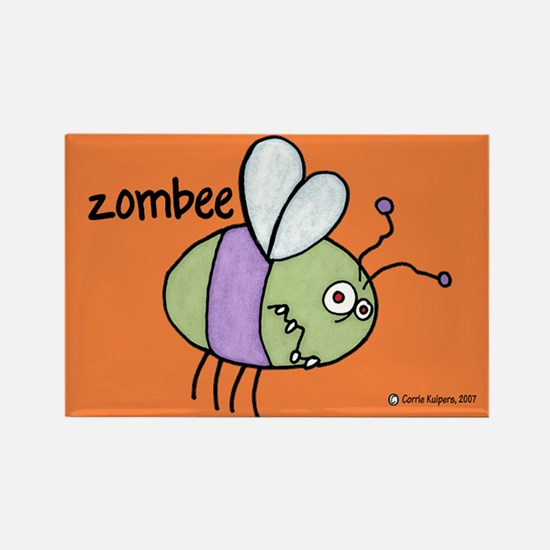Zombee Rectangle Magnet