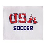 USA Sports Throw Blanket