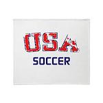 USA Sports Throw Blanket