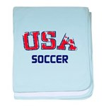 USA Sports baby blanket