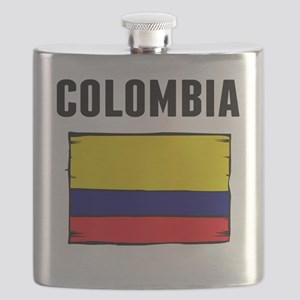 Colombia Flag Flask