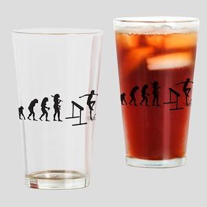 Steeplechase Drinking Glass