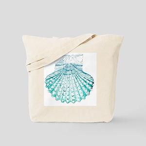 modern sea shells nautical  Tote Bag