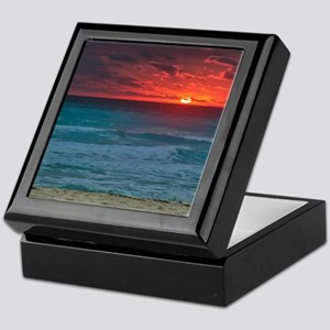 Sunset Beach Keepsake Box