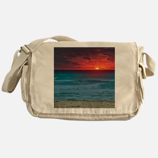 Sunset Beach Messenger Bag