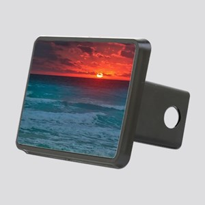 Sunset Beach Rectangular Hitch Cover