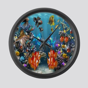 Under the Sea Large Wall Clock